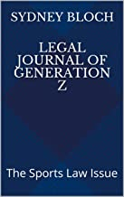 Legal Journal of Generation Z: The Sports Law Issue (English Edition)