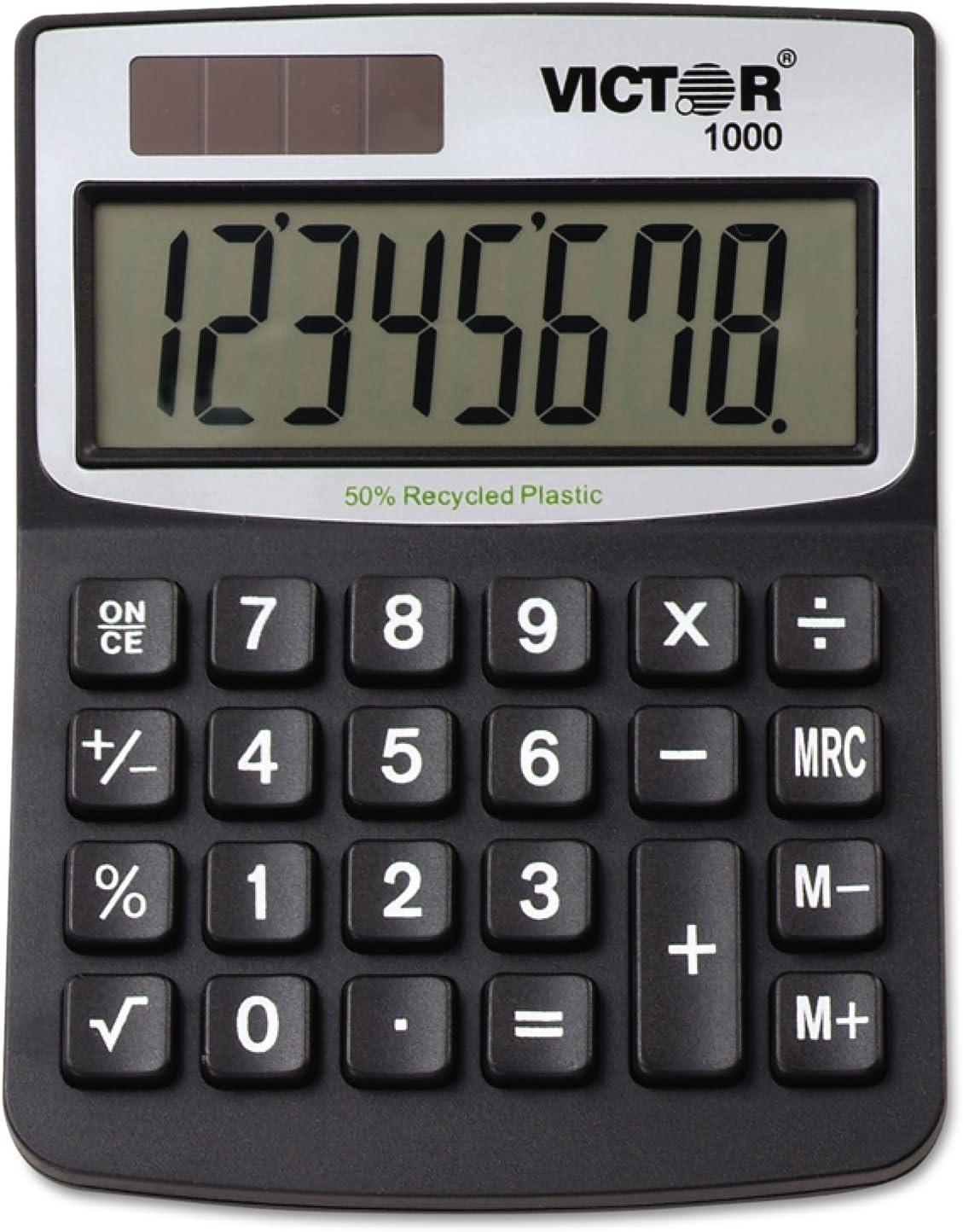 VCT1000 - Victor Max 58% OFF 11000 Max 57% OFF Desktop Calculator Mini