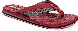 حذاء رجالي من MUK LUKS - لون برغي/رمادي رجالي قلاب