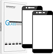(2 Pack) Orzero for LG K10 2018, Premier Pro LTE Tempered Glass Screen Protector(Upgraded), 2.5D Arc Edges 9 Hardness HD Anti-Scratch Full-Coverage (Lifetime Replacement Warranty)