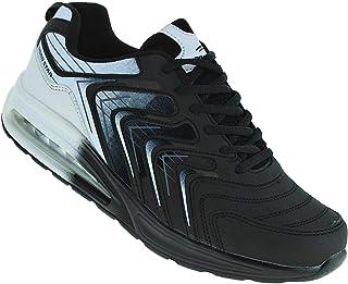 Roadstar 456 Neon Luftpolster Turnschuhe Schuhe Sneaker Sportschuhe Herren