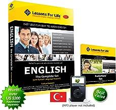 اللغة الإنجليزية (الولايات المتحدة) لسماعات اللغة التركية - المجموعة الكاملة