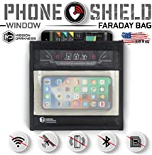 Mission Darkness Window Faraday Bag for Phones–5th Gen Shielding for Law Enforcement and Military
