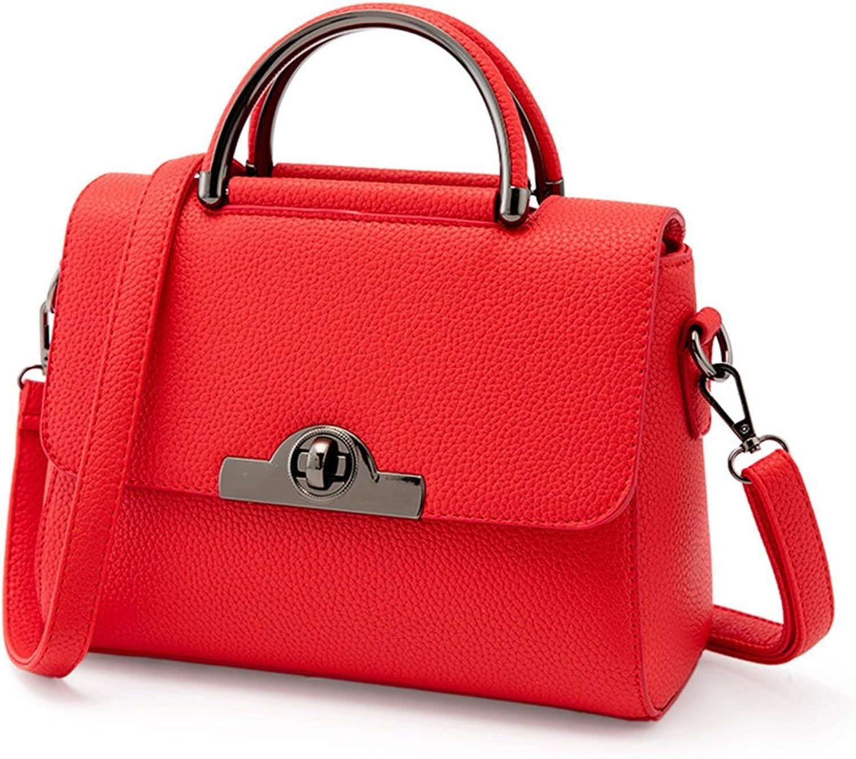 Fengfeifei Women PU Leather Cross Body Handbags Madam Lady Handbag Shoulder Bag Small Square Bag
