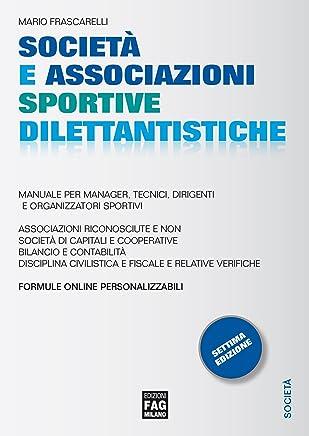 Società e associazioni sportive dilettantistiche