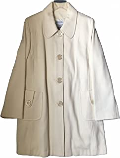 5153ab3243ddd Marvin Richards Women s Wool Blend Coat Ivory Plus Size 1X