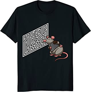 Funny Animal Shirts: Rat Maze for Humor Animal Lovers Tshirt
