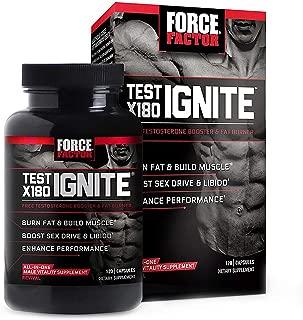 Force Factor Test X180 Ignite 120 Capsules