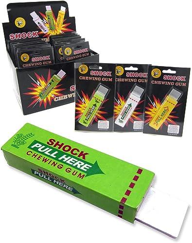 tiempo libre 12 Shock Gums - Funny Gag - Shocking Realistic Prank Prank Prank by shock gum  comprar mejor