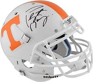 peyton manning autographed tennessee helmet