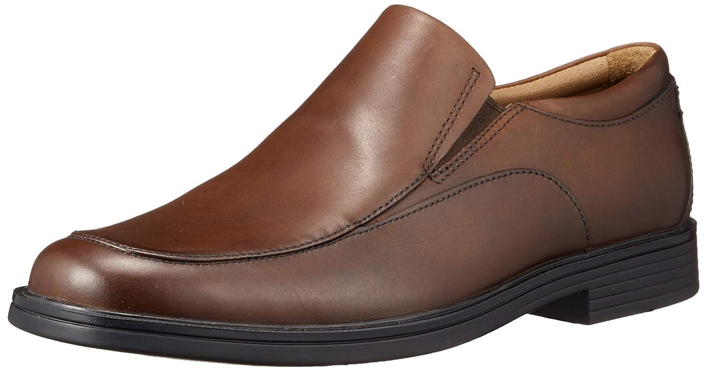 ビルメタリックおClarks(クラークス) Un Aldric Walk Dark Tan Leather カジュアル シューズ 26138633 メンズ ワンカラー UK11(29.0cm)