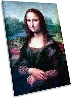 Lienzo Impreso en Lienzo de Leonardo da Vincia Mona Lisa Canvas, 90cm Wide x 135cm High