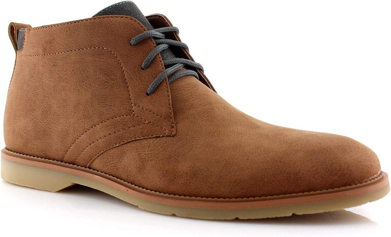 National uniform free shipping Ferro Aldo Marvin MFA506032 Chukka Casual Desert Boots Leat Mens Ranking TOP3