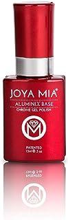 Joya Mia Aluminix Chrome Gel Nail Polish Silver Base Long Lasting Easily Soak Off Unique Colors 15ml