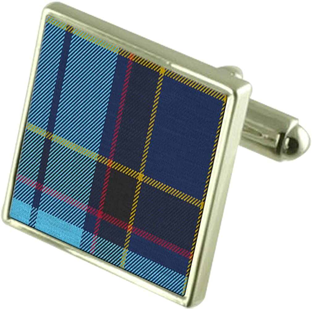 Select Gifts Tartan US Air Force Nashville-Davidson Mall Band Sterling Pipe Trust Silver Cuffl