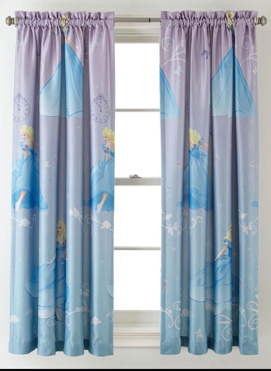 Princess Disney Cinderella Room-Darkening Window Panel Drape - 4