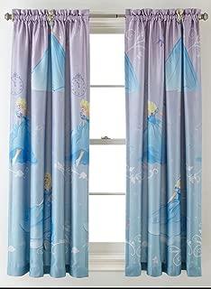 Princess Disney Cinderella Room-Darkening Window Panel Drape - 42x63