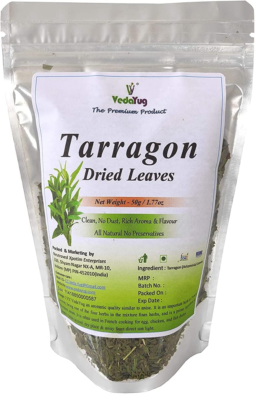 Carlos VY Limited price VedaYug Tarragon Mediterranean Pure Cul Same day shipping Leaves