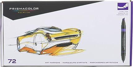 Prismacolor Marker Set, 72 Pieces, Chisel/Fine Markers