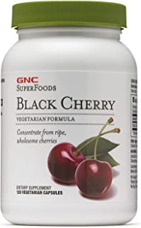 GNC SuperFoods Black Cherry, 120 Capsules