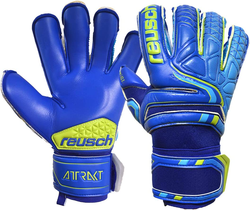 Opening large release sale Reusch Attrackt S1 Evolution Ranking integrated 1st place Goalkeeper Glove Finger Support