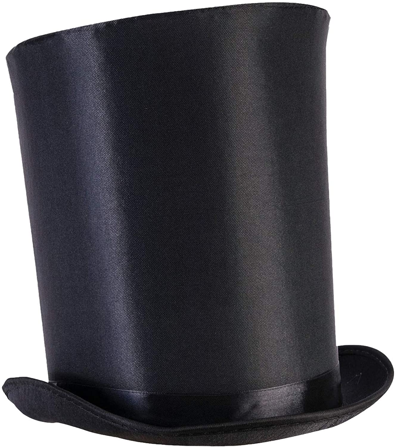 PINK SATIN TOP HAT WITH RIBBON FANCY DRESS PARTY