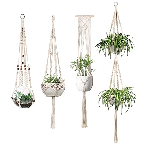 picture relating to Free Printable Macrame Plant Hanger Patterns identified as Macrame Plant Hangers: