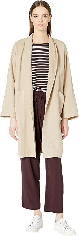 High Pleated Collar K/L Jacket