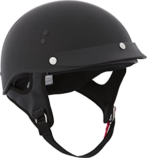 CKX Unisex-Adult Solid Curtiss Open Face Helmet (Matte Black Large
