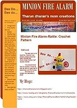 Amigurumi Crochet Pattern - Minion Fire Man Alarm Rattle