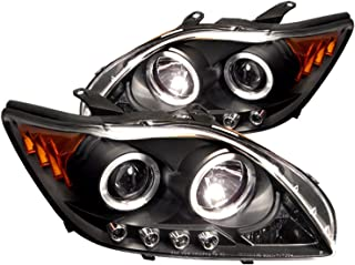 Spyder Auto Scion TC Black Halogen LED Projector Headlight