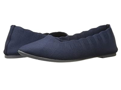 SKECHERS Cleo Bewitched Engineered Knit Skimmer (Navy) Women