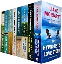 Liane Moriarty Collection 8 Books Set (The Hypnotist's Love Story,The Last Anniversary,What Alice Forgot,The Husband's Sec...
