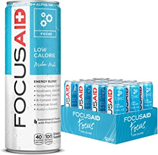 Sponsored Ad - FOCUSAID Energy Blend, Contains Nootropics, Natural Caffeine, 100% Clean, No Artificial Flavors, Sweeteners...
