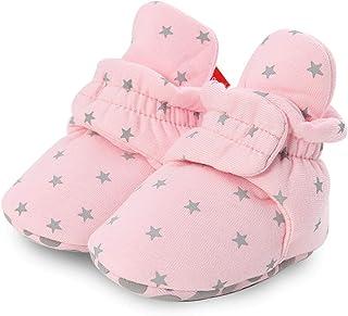 ZAIZAI, Zapatos para recién nacidos, calcetines calientes, botas de invierno, para primer caminante, para bebés, niñas, niños, suela suave, botas de nieve, unisex