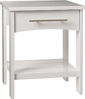 KidKraft Addison Twin Side Table, White