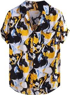 dae6298b71b4 Amazon.it: Arancione - Camicie / T-shirt, polo e camicie: Abbigliamento