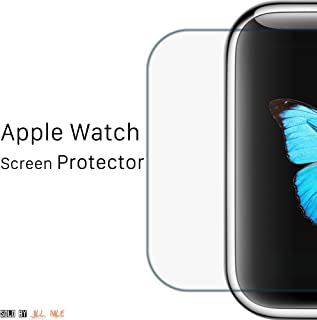 For Apple Watch Screen Protector 38mm (Series 1/2/3) [Anti-scratch] [Bubble-free] [Never Peel-off] iWatch Screen Protector Tempered Glass for Apple Watch [Cover Flat-Part]
