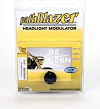 H4 Motorcycle Headlight Modulator P115W for LED or Conventional bulbs. Plug n Play Programming, No-cut, pathBlazer By Kisan Designed For Your Bike with Daylight Sensor, Easy Install 9003