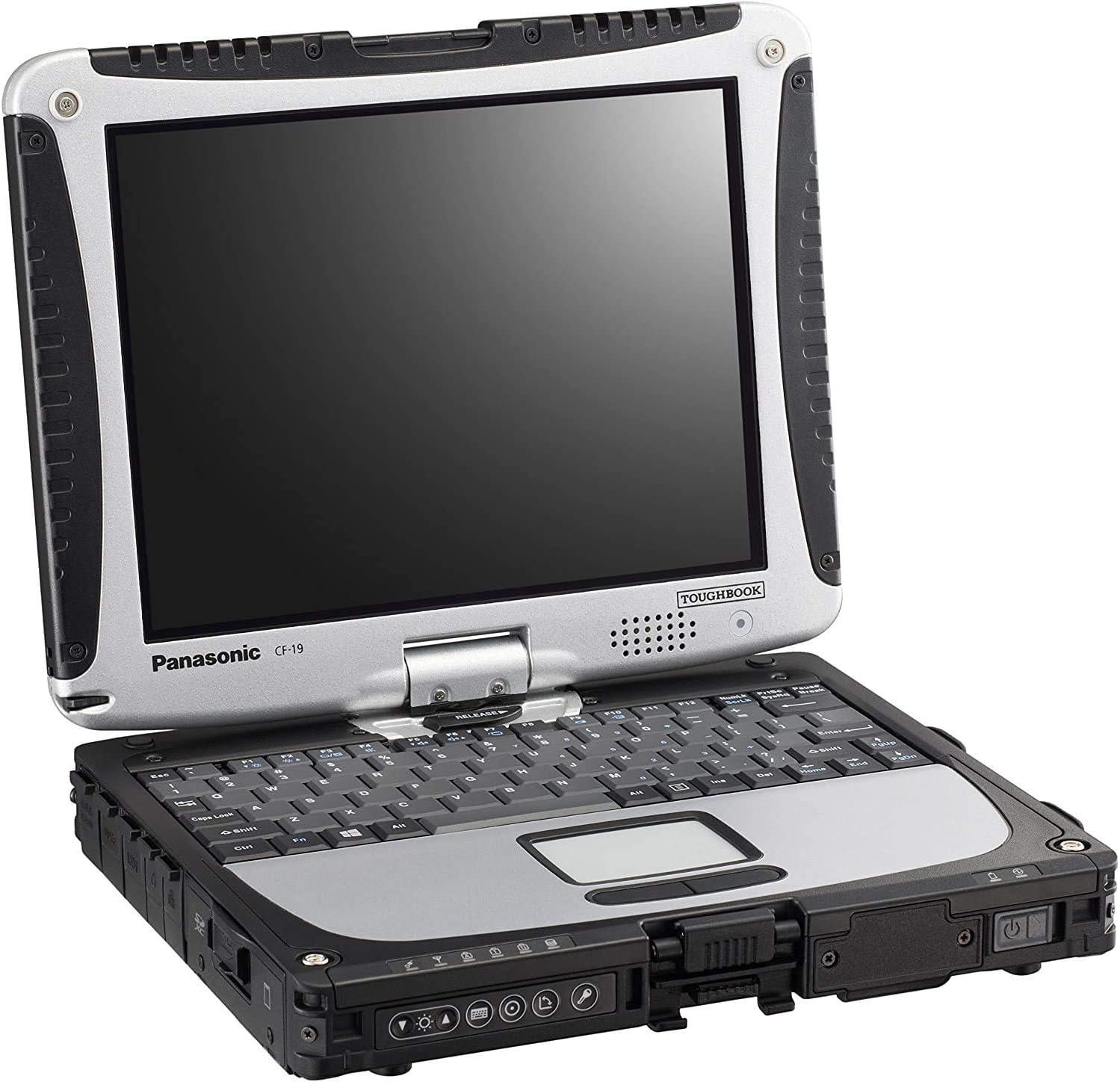 Panasonic Toughbook CF-19 MK4, Intel i5-U540 @1.20GHz, 10.4