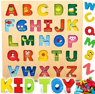 wooden blocks alphabet lettering