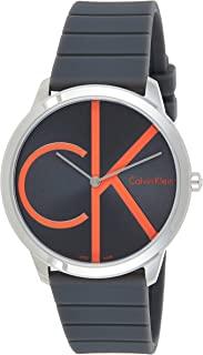 Calvin Klein Minimal Black Dial Men's Watch K3M211T3