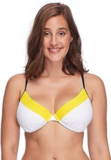 Women's Solo Underwire D, DD, E, F Cup Bikini Top Swimsuit