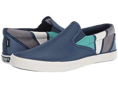 Sperry Striper II BIONIC(r) Slip-On Sneaker (Navy Multi) Men