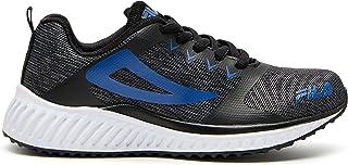 Fila Kids's Desio Trainers Shoes, Black/Grey/Classic Blue, 1 US