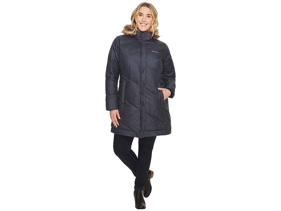 Columbia Plus Size Snow Eclipsetm Mid Jacket (India Ink) Women