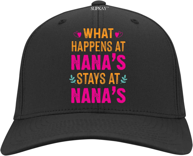 What Happens at Nanas Stays at Nanas Hat,Twill Cap