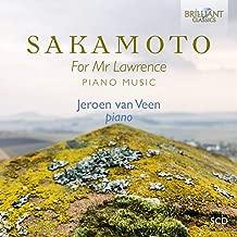 SAKAMOTO for MR. Lawrence ~坂本龍一 ピアノによる作品集~ 【輸入盤】 BRL-95389