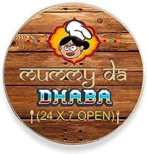 YaYa cafe Birthday Gifts for Mom Mummy Da Dhaba Fridge Magnet - Round