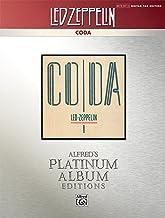 Led Zeppelin -- Coda Platinum Guitar: Authentic Guitar TAB (Alfred's Platinum Album Editions)